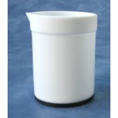 3751 - PTFE Beaker with Blended PTFE and Carbon Base