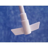 4500 - PTFE Stirrer Shaft with 2 Centrifugal Blades