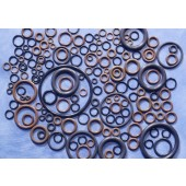 6201 - Viton O-Rings for Hi-Vac Metering Valve with Exposed O-Rings, Tip and Stem Seals