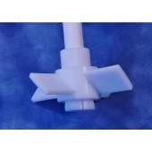 651- Axial Flow PTFE Agitator, 45°, 19mm