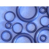 6600 - Teffe O-Rings - Teflon loaded Elastomer for SciMac Internal Threaded Bushings and Connectors