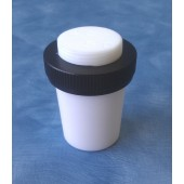 803- PTFE Safety Stopper, Solid, Extraction Nut, Flask Length