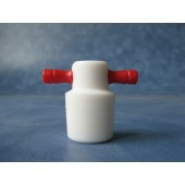 806 - PTFE Handle Stopper, Solid, Flask Length Sizes